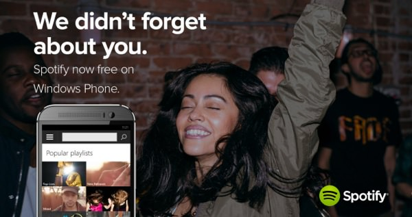 Spotify Gratuit Windows Phone