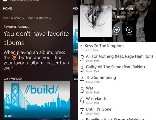 VLC Application Windows Phone 2