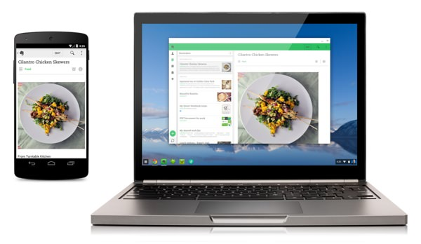 Application Android Chromebook