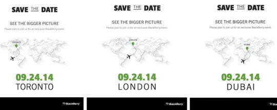 BlackBerry Conference 24 Septembre 2014