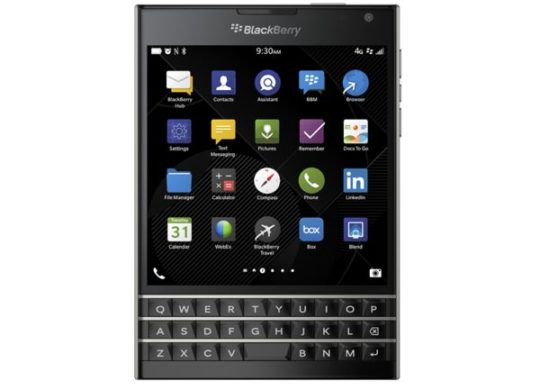 BlackBerry Passport Officiel