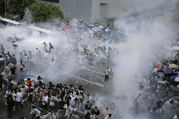 Hong Kong Manifestation Septembre 2014