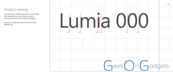 Lumia Marque
