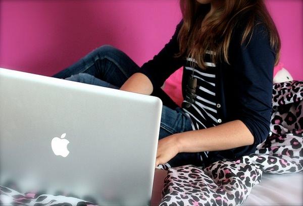 MacBook Fille