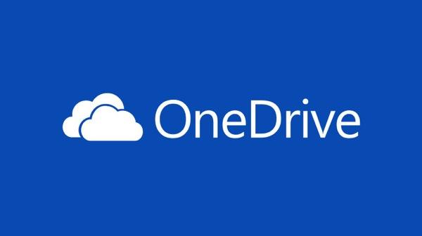 OneDrive Logo Bleu