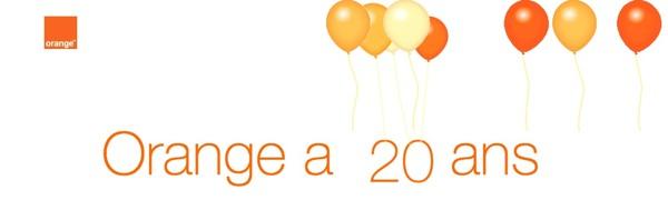 Orange 20 ans