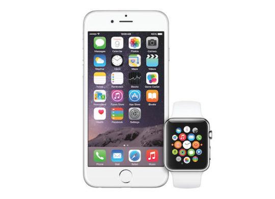 iPhone 6 Apple Watch