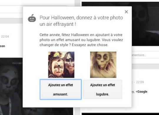 Google Plus Halloween Photos