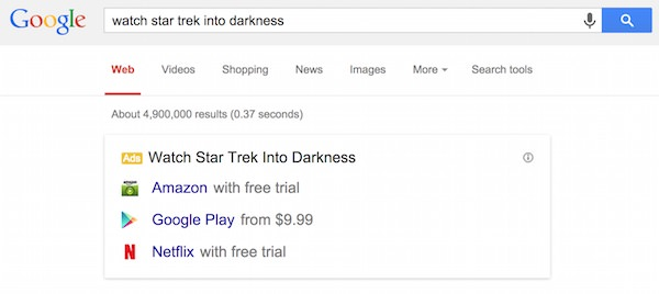 Google Recherches Films Legal