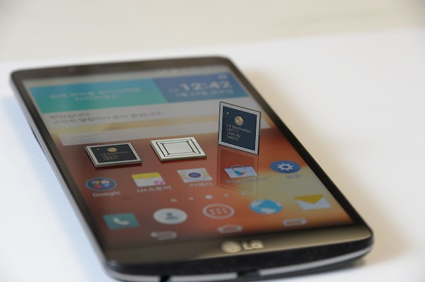 LG G3 Screen Processeur NUCLUN