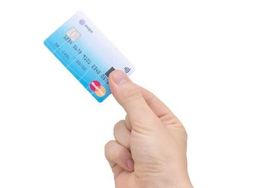 MasterCard Zwype Carte Bancaire NFC Empreinte
