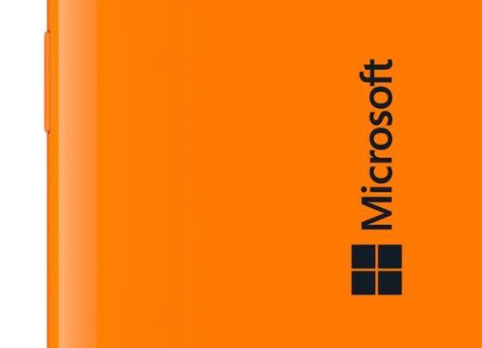 Microsoft Lumia Arriere