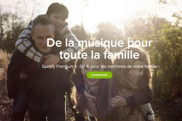 Spotify Famille