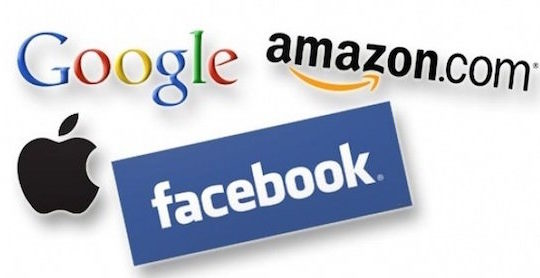 Apple Amazon Google Facebook GAFA