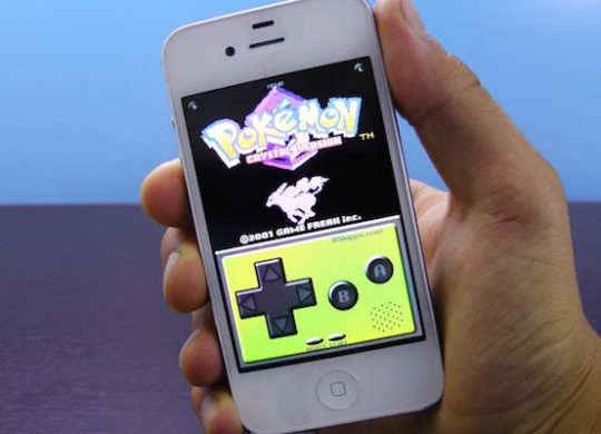 Emulateur Game Boy iPhone