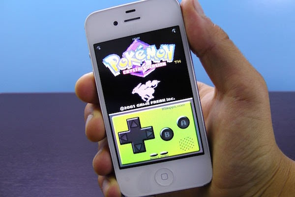 Emulateur Game Boy iPhone
