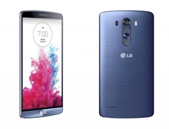 LG G3 Bleu