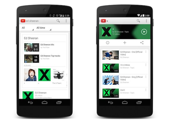 YouTube Music Key Android