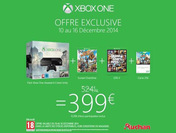 Bon Plan Xbox 5 Jeux 399 euros