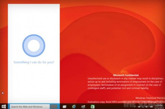 Cortana-Windows 10