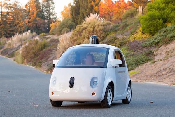 Google Voiture sans Conducteur Prototype termine decembre 2014