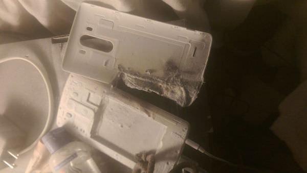 LG G3 Explose