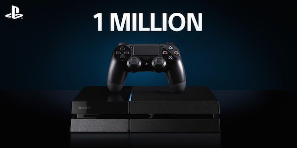 PlayStation 4 1 Million Ventes France