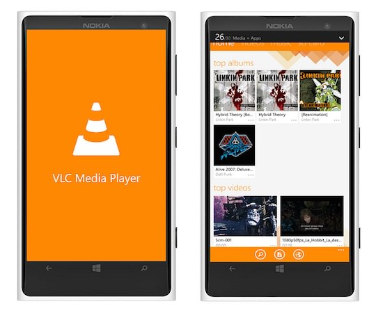 VLC Windows Phone Application