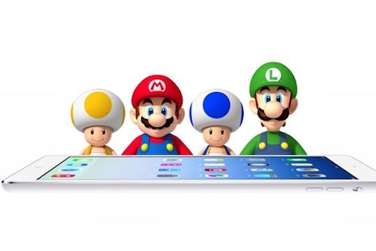 Nintendo Mario iPad