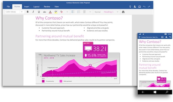 Office 2016 Word Windows 10