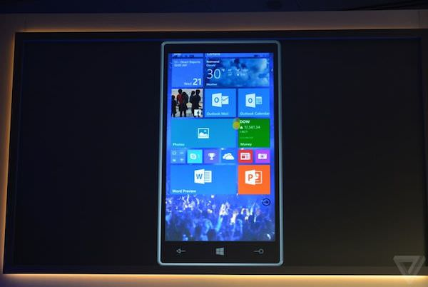 Windows 10 Mobile Smartphone