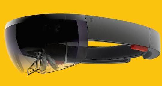 Microsoft HoloLens Profil Gauche