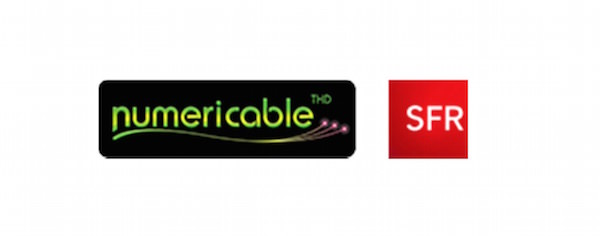 Groupe Numericable SFR Logos