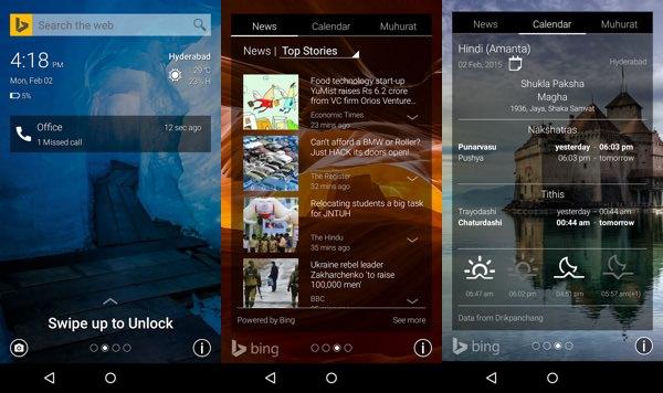 Picturesque Ecran Verrouillage Microsoft Android