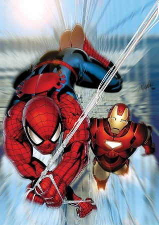 Spiderman Ironman