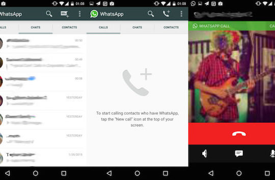 WhatsApp Appel Audio