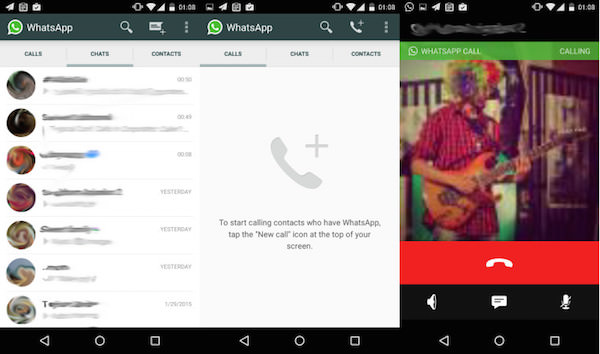 WhatsApp Appel Audio
