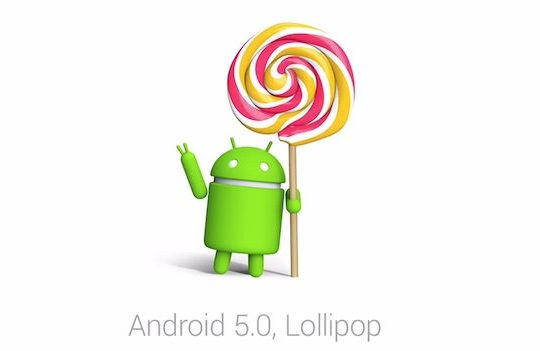 Android 5.0 Lollipop Logo