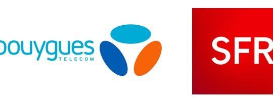 Bouygues Telecom SFR Logos 2015