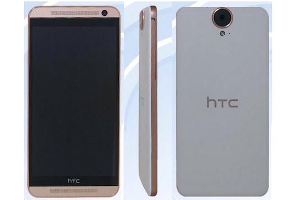 Fuite HTC One E9
