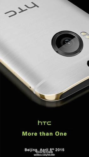 HTC Invitation 8 Avril 2015