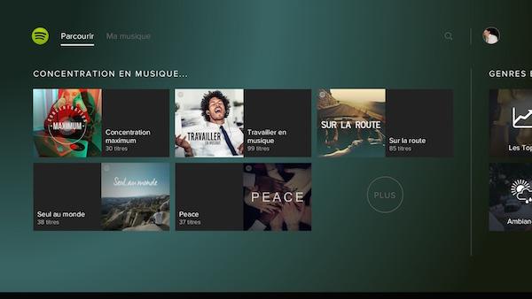 Spotify PlayStation Music