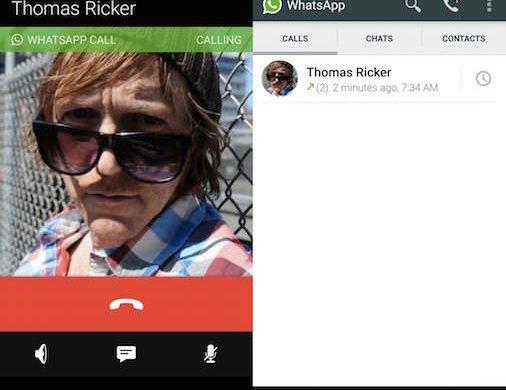 WhatsApp Appels Audio