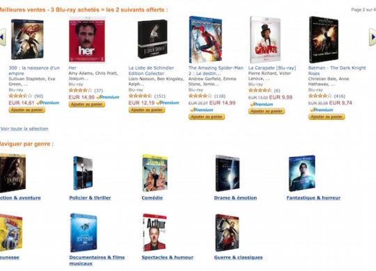 amazon Blu ray