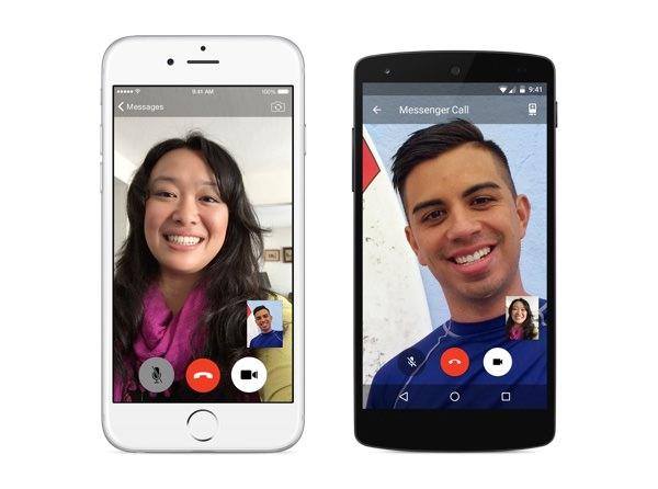 Facebook Messenger Appels Video