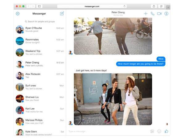 Facebook Messenger Messenger.com