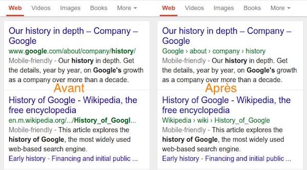 Résultats De Recherche Sur Mobile Google Remplace Les