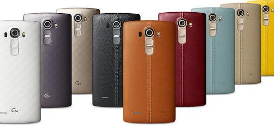LG G4 Cuir Coloris