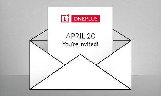 OnePlus Invitation 20 Avril 2015
