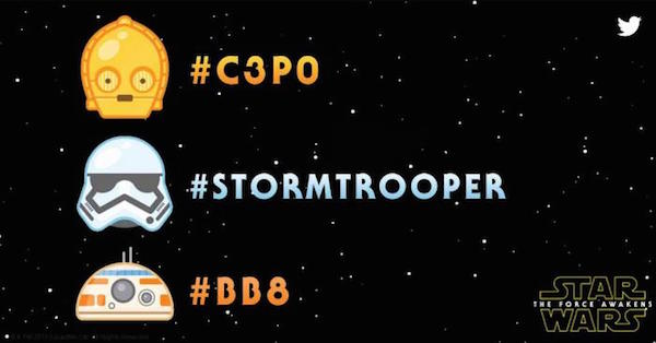 Twitter Emoji Star Wars